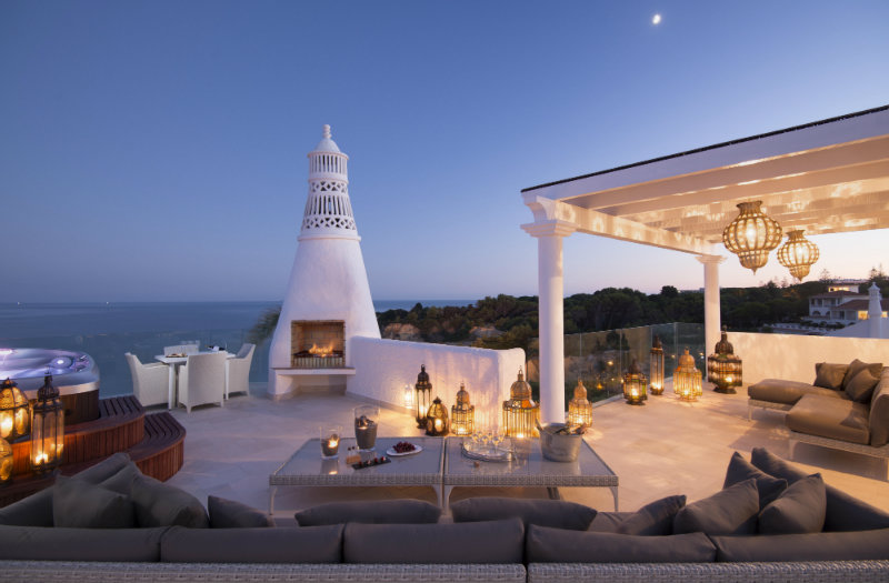 Vila Vita Hotel: Luxury, Elegant and Secluded Getaway in the Algarve   Vila Vita Hotel: Luxury, Elegant and Secluded Getaway in the Algarve Villa Trevo Rooftop terrace 1