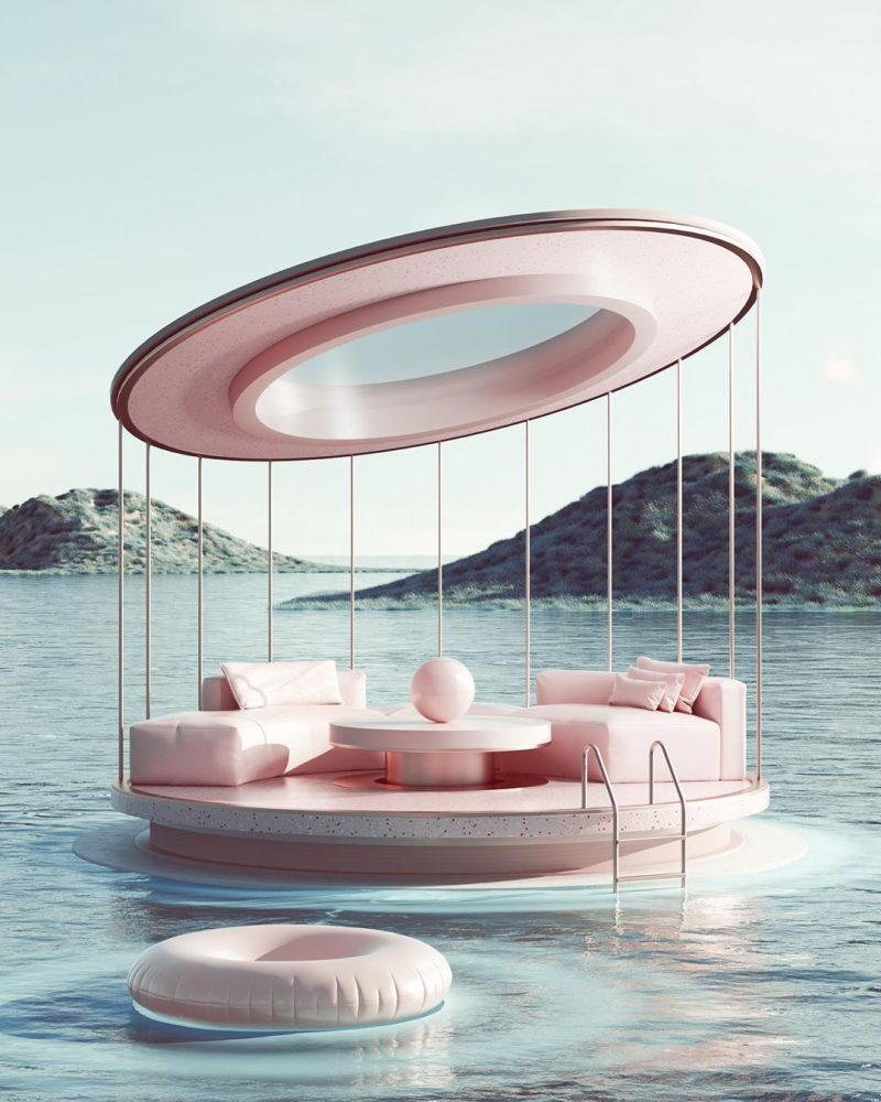 DESIGN AT ITS FINEST: PASTELS COLOURS AND LOOPED SHAPES