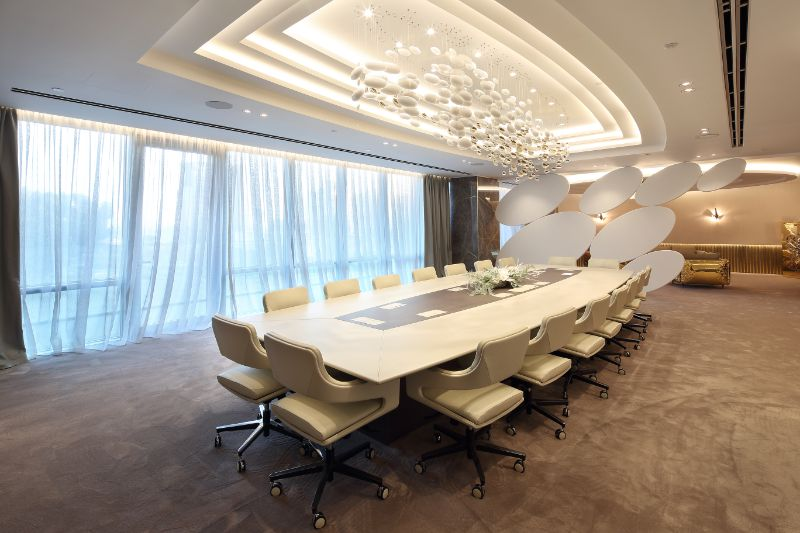 A Luxury And Imposing Office Design By Sicilia Shine