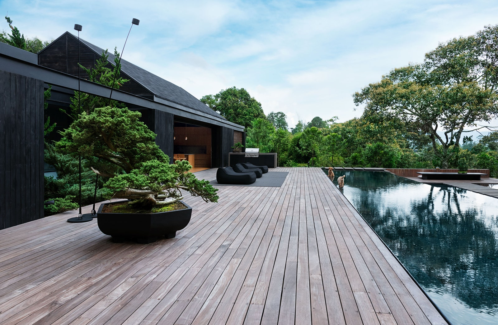 Inside J Balvin's Country Retreat: Japanese Minimalism