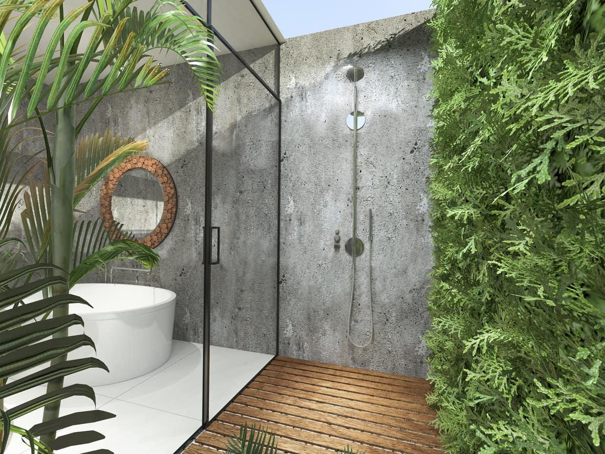 Tropical Bathroom Décor Ideas