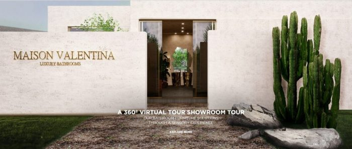 Experience An Immersive Bathroom Design Journey With a New Virtual Showroom