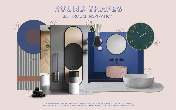 Trend Alert: How To Style Round Shapes in Your Bathroom
