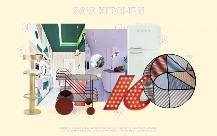 Trend Alert: Bring the 80's To Your Kitchen Design