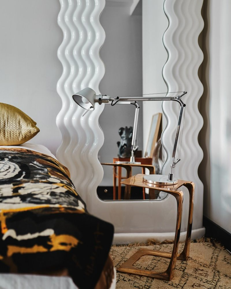 Trend Alert: the Ettore Sottsass Mirror that Gets Style-Setters Preening