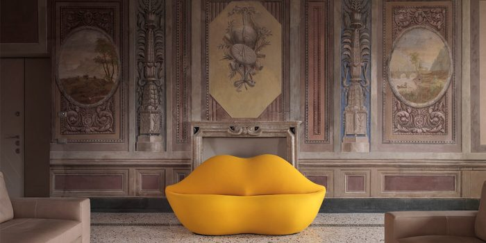 The Iconic Lips Sofa Is Turning 50 This Year