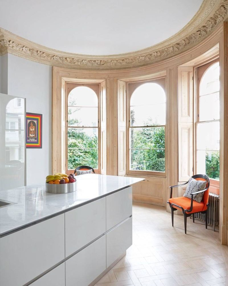 Peter Mikic Restores West London Townhouse To It's Original Charm