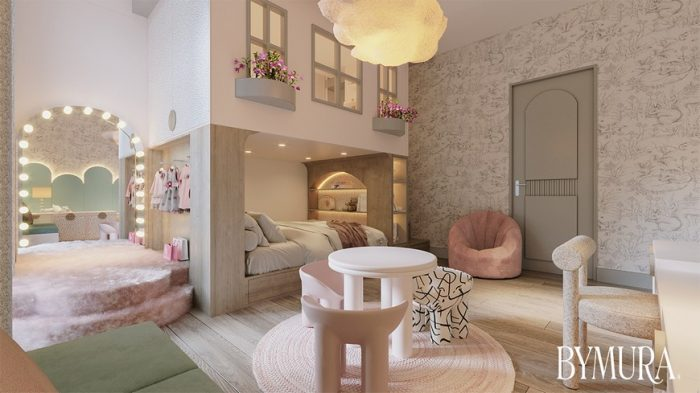 BYMURA STUDIO CREATED A DREAMY KIDS BEDROOM IN MEXICO