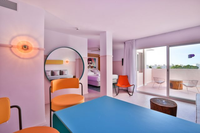 Playful Interior Design Ideas and Bright Room Colours