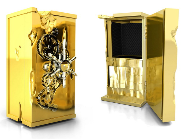 Iconic Luxury Safes: Craftsmanship Pieces By High-End Brands