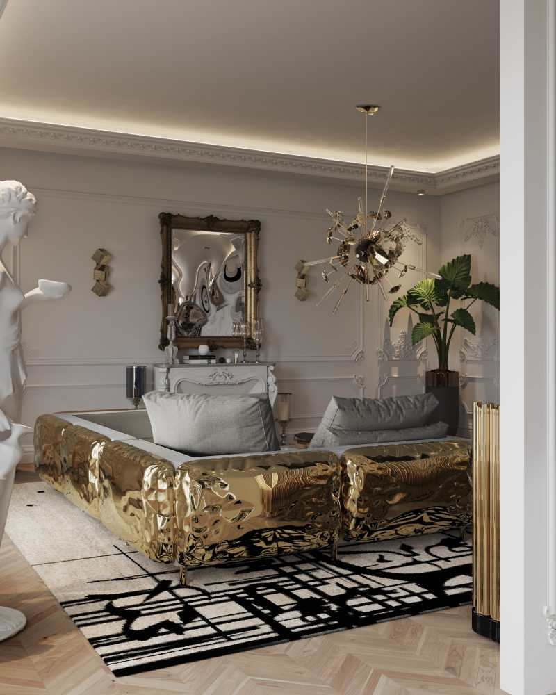 A Multimillion-Dollar Penthouse In Paris by Boca do Lobo
