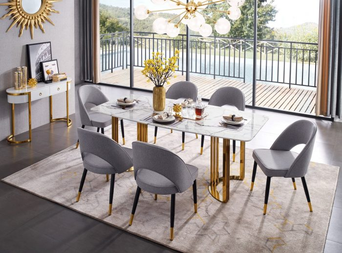 The Most Luxury Showrooms In Toronto luxury showroom Where To Shop – The Best Luxury Showrooms In Toronto Dining Room Furniture Modern Casual Dining Sets 133 Dining Gold