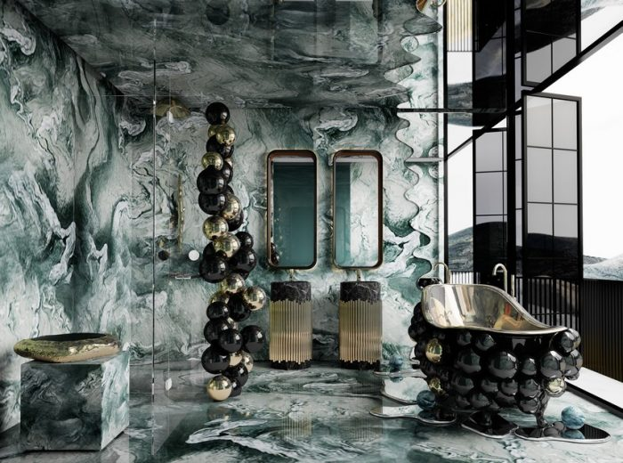 UNVEILING AN ETHEREAL BATHROOM ON AN ECLECTIC TOWNHOUSE IN HONG KONG