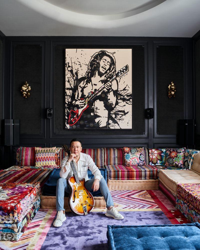Yang Kun's Home Has Personality, Temperament, Power And Artistic Sense