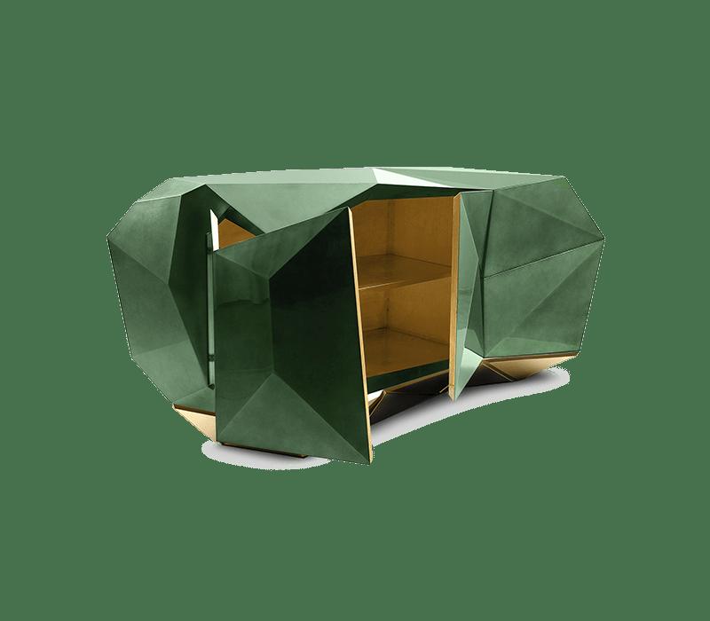 interior design project Explore Rome Decor With Its Best Interior Design Projects! diamond emerald sideboard 01 boca do lobo