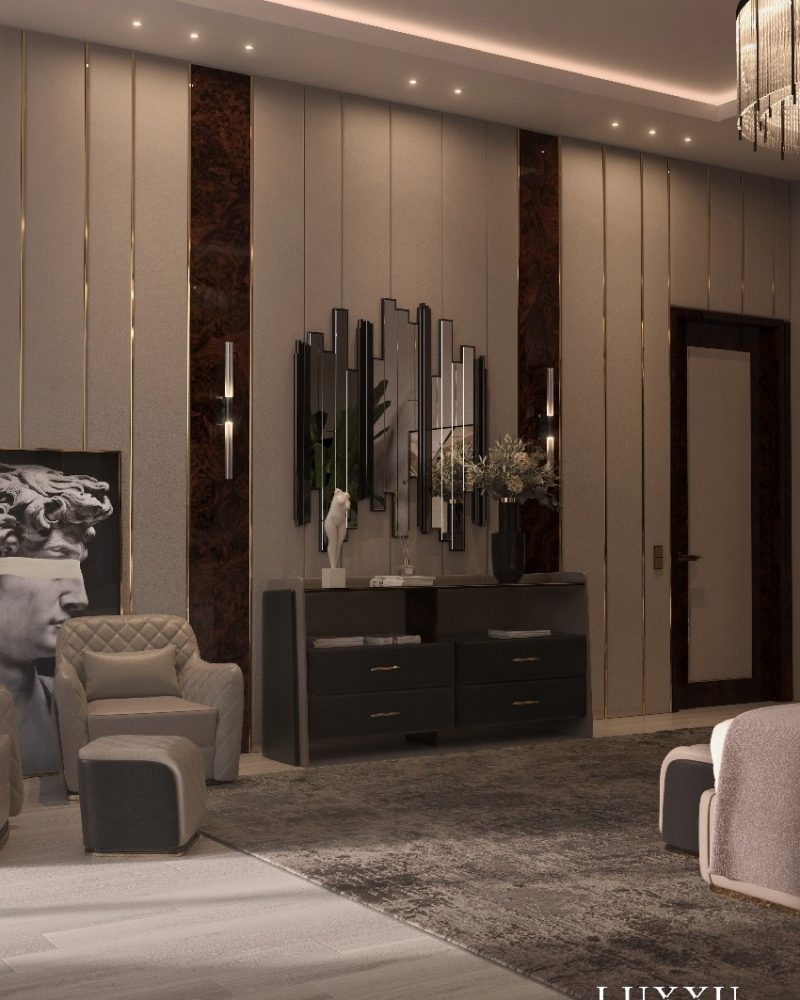 THE PERFECT BEDROOM DESIGN WITH LUXXU'S CHARLA COLLECTION