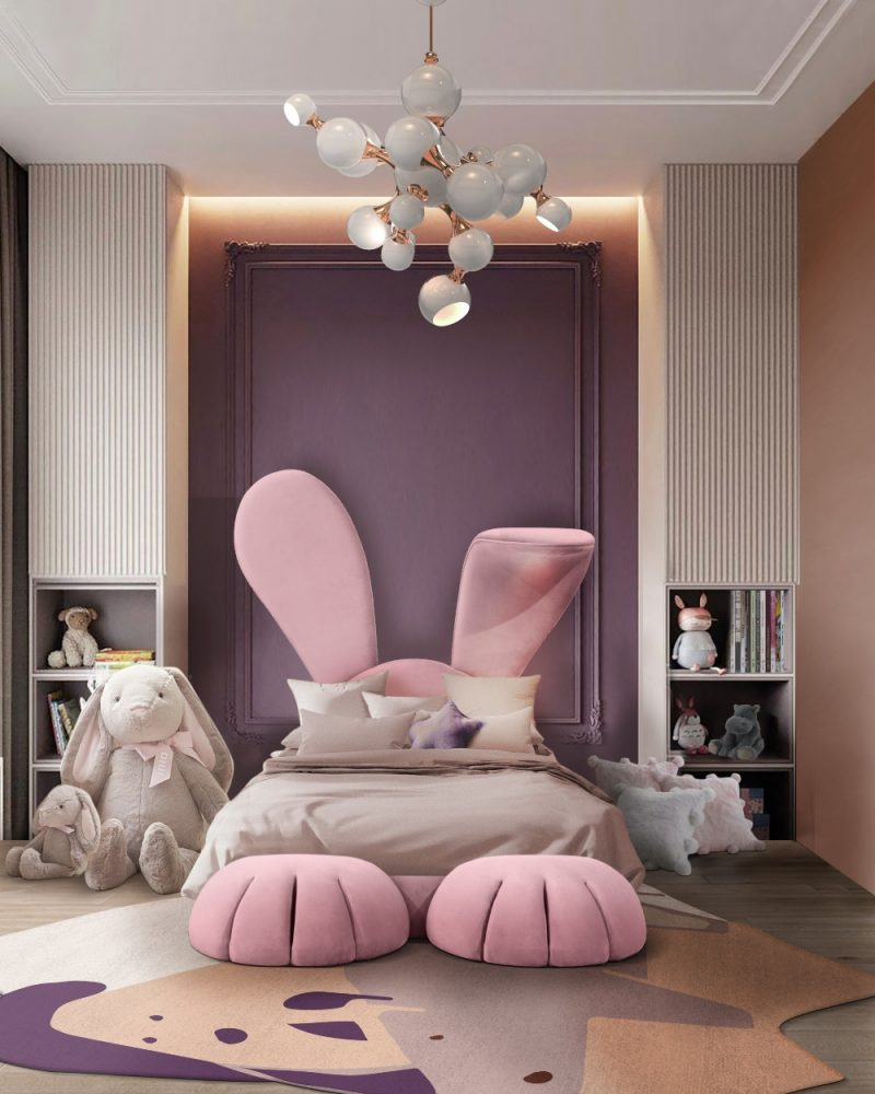 An Incredible Bed That Will Make You Feel Part Of Alice In Wonderland