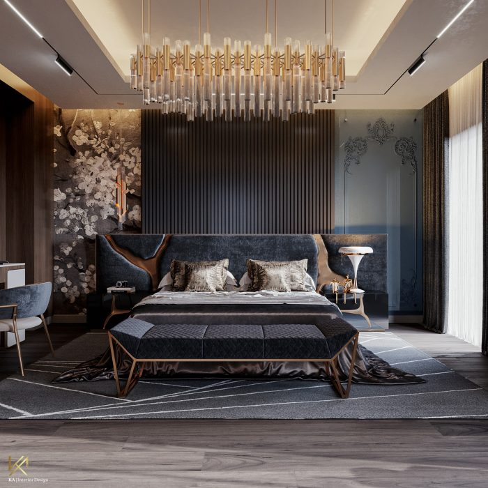 A Sumptuous Modern Classic Mansion In Egypt By K.A. Interior Design