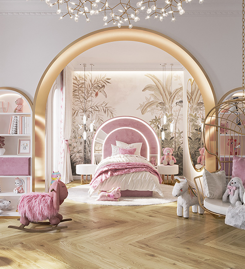 BEDROOM FULL OF COLOR & MAGIC BY WE WNTRZU AND CIRCU