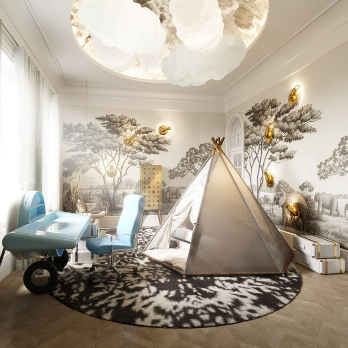 LUXURY KIDS ROOM PROJECT: A TALE THAT STOPS TIME BY BRITTO CHARETTE