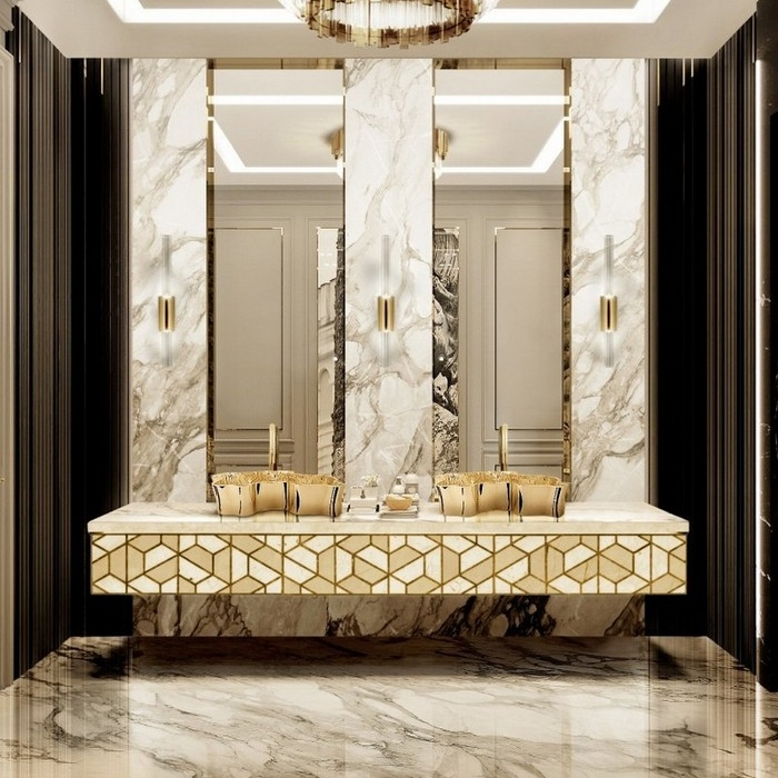GET INSPIRED: HOW TO GIVE A LITTLE LUXURY TO YOUR BATHROOM (PART II)