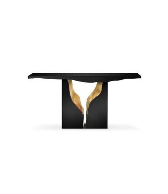 LAPIAZ BLACK CONSOLE TABLE