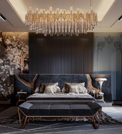 OPULENT MODERN CLASSIC BEDROOM IN RIYADH