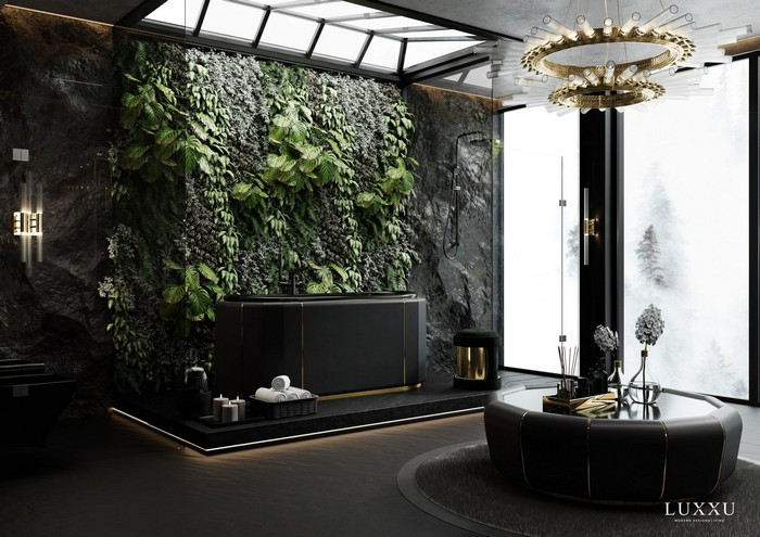 A Bathroom That Is The Epitome Of Privacy And Luxury