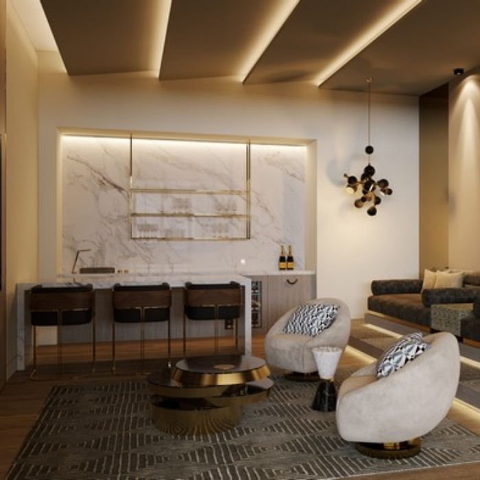 Modern Art Deco Experience Created by Marbé Designs