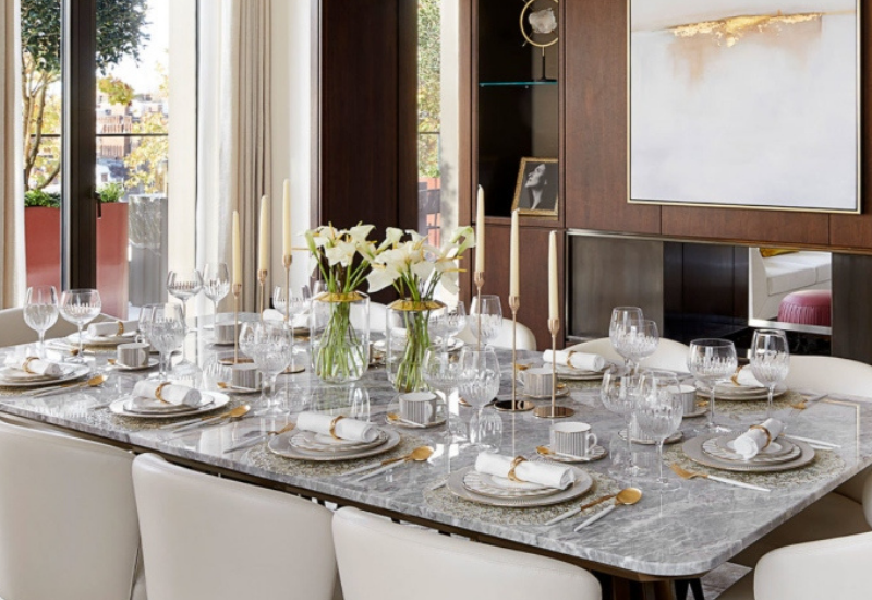 DINING ROOM DESIGN: A MESMERIZING AND COMFORTABLE PLACE