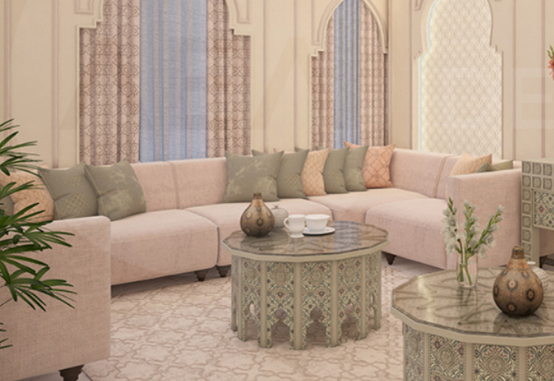LIVING ROOM: A CLASSIC AND SOFISTICATED PROJECT