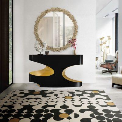 Rugs: a modern twist with geometric patterns